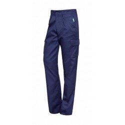 Pantalón multibolsillos azul Monza 1131