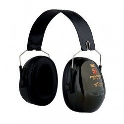 CASCOS PROTECCIÓN AUDITIVA 3M PELTOR Optime II H520F-410-GB Orejeras plegables