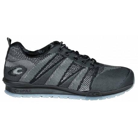 Zapatillas de seguridad COFRA FUENT BLACK S1 P SRC